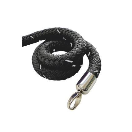 Stopper Tex Rope Black/Chrome